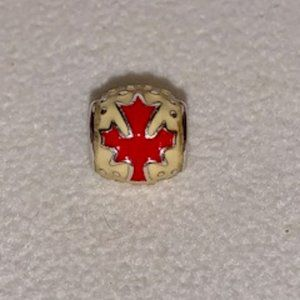 RARE! Retired Pandora Canada Maple Leaf Charm 2009